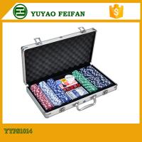 Buy cheap 6 Colors Professional Poker Chips Sets For Casino 300 Pcs Round Corner product