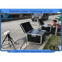Buy cheap Under Vehicle Surveillance System UVSS Mobile Type Dynamic Imaging UV300M product