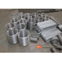 Quality Titanium Immersed Coil Type Heat Exchanger , Tube Coil Heat Exchanger CE ISO9001 for sale