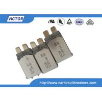 Buy cheap VDE Bimetal Fuse N.C Thermal Fuse Color Code , Single Pole Thermal Type Breakers product