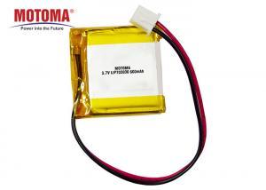 Buy cheap Fleet Tractive Gps Battery 3.7V 600mah With High Energy Density product