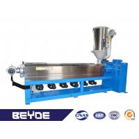 Buy cheap Extrude PVC PE PU LAN Cable Making Machine 100-200 Kg / Hr Low Noise product