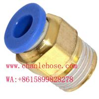 Buy cheap push in fittings, PL, PC, PV male fittings, pneumatic fittings,plastic fittings product