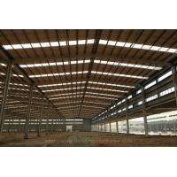 Buy cheap Hot-dip Galvanized Prefabricated Warehouse Steel Structure Building product