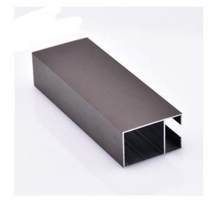 Buy cheap 6m Light Bronze Anodized Aluminium Extrusion Profiles For Windows Doors Frame product