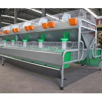 Buy cheap Meat Rabbit Poultry Farming Cage Cheap Female Rabbit Cage/ Industrial Rabbit Cage product