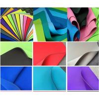 Buy cheap Environment SBR Neoprene , Smooth Skin SBR Rubber Sheet For Sports product