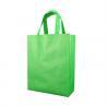 Recycled Green 86Gsm Printed Non Woven Shopping Bags Virgin Polypropylene for sale