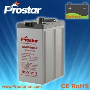 Buy cheap Prostar Gel Battery 2V 500AH product