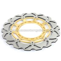 China 320mm Durable Wave Floating Motorcycle Brake Discs for Yamaha XT600X on sale
