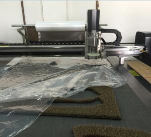 rubber car pad mat cutting machine