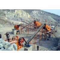 Buy cheap Construction Stone Crusher Machine , Stone Crusher Plant With Belt Conveyor product