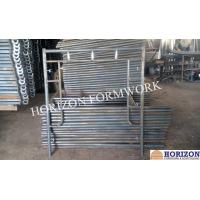 Buy cheap Stable Frame Scaffolding System , Q235 Steel Scaffolding Frame Type 1524x1700mm product