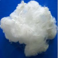 Buy cheap Raw White PSF Polyester Staple Fiber For Spinning And Non - Woven Fabric product