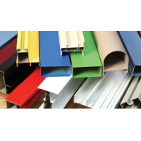 Buy cheap Window Frame 6063 6m Color Powder Coated Aluminium Extrusions Building Decoration product