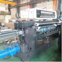 Buy cheap High Efficiency Glass Straight Line Beveling Machine Double Glazing Equipment,Straight-Line Glass Beveling Machine from wholesalers