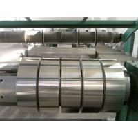 Buy quality 8011 O / 3003 H22 H24 Big Roll Coil  Aluminium Foil Roll Semi-rigid Container SRC  at wholesale prices