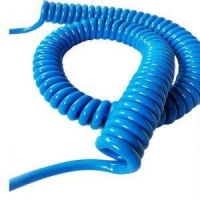 Buy cheap Jacket PU 4M Telephone Spiral Cable For Electronic Equipment product