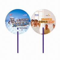 Buy cheap Hand Fans for Promotional Purposes, Customer's Logos Printings are Available, Made of PP product