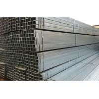 Buy cheap Welded Hot Dipped Galvanized Steel Rectangular Tube ASTM A500 / A53 product