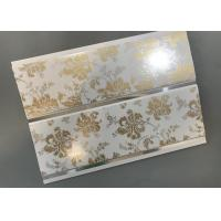 Buy cheap Hot Stamping Decorative PVC Panels With Persistent Material Long Using Life product