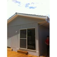 Buy quality Steel Tube, Wood / Steel Door Panel Prefab Modularcontainer Villa, Bungalow House at wholesale prices