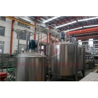 China Aseptic Fruit Juice Processing Equipment Glass Bottle Honey Filling And Capping on sale