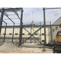 Buy cheap Small Warehouse Steel Structure With Sandwich Claddy product