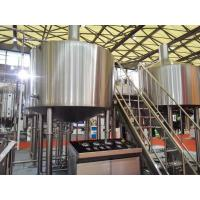 Buy cheap Touch Screen Large Home Brewing Equipment 2000L Sus304 Brewhouse Equipment product