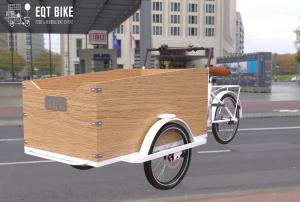 Buy cheap Electric Box Structure Tricycle Cargo Bike For Children product