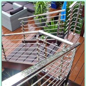 Buy cheap High Quality Modern Design Anti-rust Safty Rod Railing With Handrail product