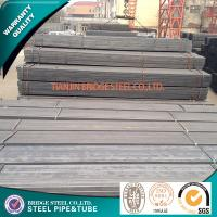 Buy quality Black Square Steel Pipe ASTM A500 / Structural Steel Tubing API K55 at wholesale prices