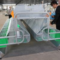 Buy cheap cheap price automatic rabbit battery cage for both mothers and babies product