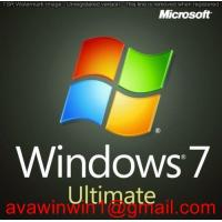 Buy cheap OEM Microsoft Windows 7 Ultimate Retail Box For DIY / Unbranded Laptop product