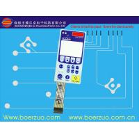 Buy cheap PC Digital Keypad Silicone Rubber Membrane Switch ,El Display Backlit Keyboard product