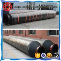 Buy cheap BIG DIAMETER FLANGED RUBBER DISCHARGE AND SUCTION  DREDGING HOSE product