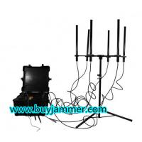 Buy cheap 350W 4-8bands High Power up to 2000m Drone Jammer product