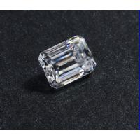 Buy cheap Lab Created Clear 1.5 Carat Moissanite Gemstones / Diamonds Moissanite Emeraldt Cut product