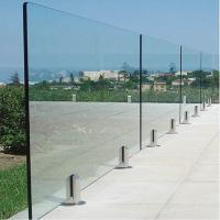 Buy cheap Deck Railing for Villa / Modern Stainless Steel Glass Railing / Balcony Railing Outdoor Design product