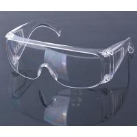 Buy cheap civil protective eye glasses impact resistant anti saliva fog safety goggles from wholesalers