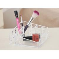 Buy cheap Desktop Clear Counter Display Stands Tray Exquisite For Cosmetics product