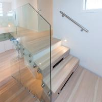 Buy cheap Beautiful Foshan Internal Staircase Design /  Wooden Floating Staircase product