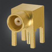 Buy cheap 50 / 75ohm MCX PCB Connector MCX Female Right Angle Jack For PCB Mount product