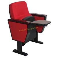Buy cheap XJ-127 meeting room classroom fold up seating auditorium chair with wooden from wholesalers