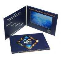 Buy cheap High End 7 Inch Lcd Video Brochure , Custom Gift Greeting Cards 800*480 Pixels Resolution product