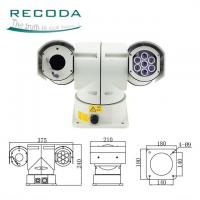 Buy cheap Police Car PTZ Camera Night Vision 18X Zoom 360 Degree Rotate IR 720P 12 Months from wholesalers