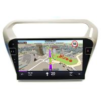 Buy cheap Double Din Citroen Dvd Player for Citroen Elysee 2013 2016 , Android 6.0  System product