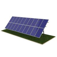 Buy cheap Steel Pile Solar Panel Ground Mounting Systems Rapid Installation 20M Max Building Height product