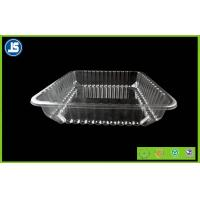 Buy cheap Food Grade Clear Plastic Food Packaging Trays , meat packing trays product