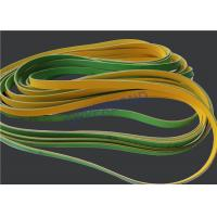 Buy cheap MK9 Tobacco Machinery Spare Parts Flat Power Transmission Belts Green Yellow product